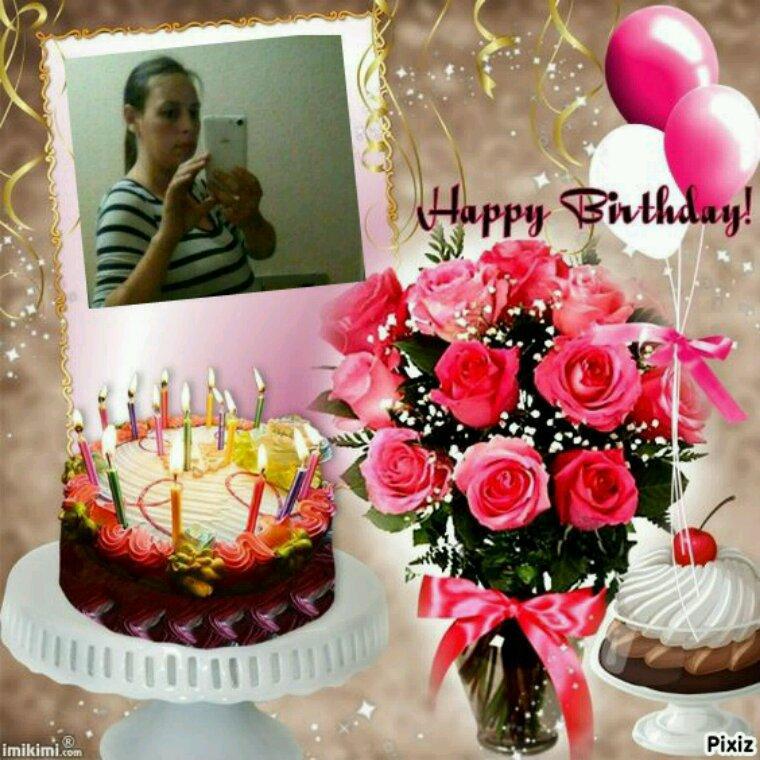 Joyeux anniversaire a ma fille Elodie