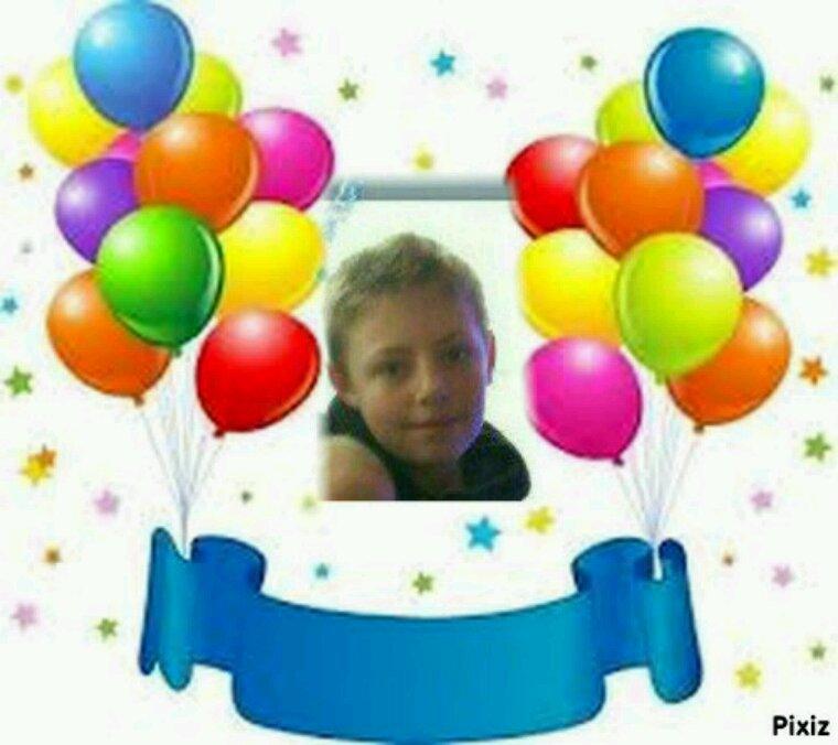 Joyeux anniversaire a mon petit fils theo 13 ans