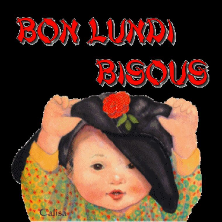 Bonne semaine gr bisous