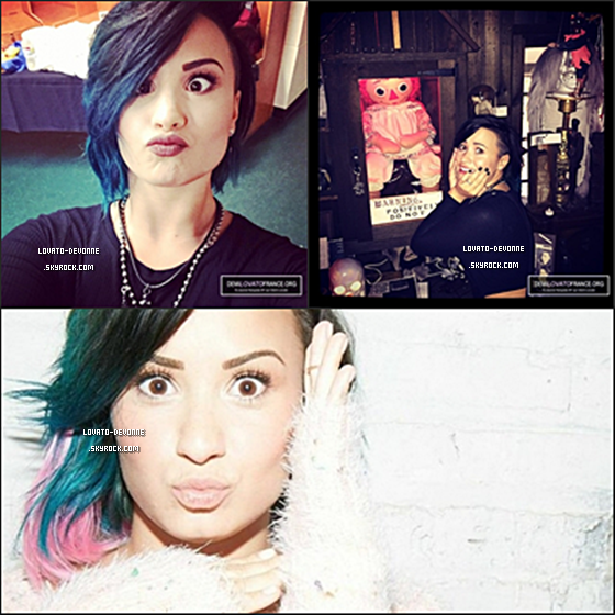 Retrouvez toutes les dernièresph que Demi a postée sur Instagram