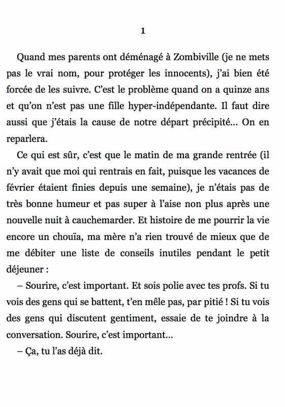 Chapitre 1 / page 1
