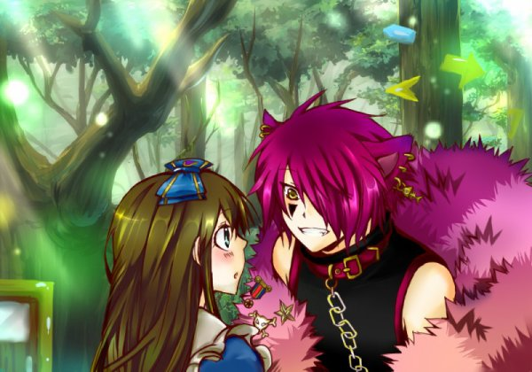 Alice and Luaisy in Wonderland : Chapitre 2