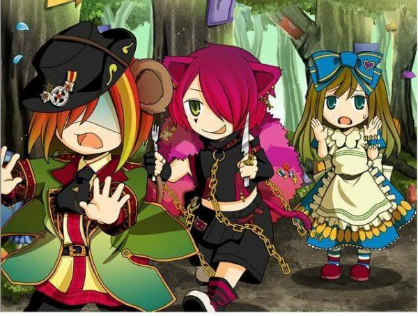 Alice and Luaisy in Wonderland : Chapitre 2
