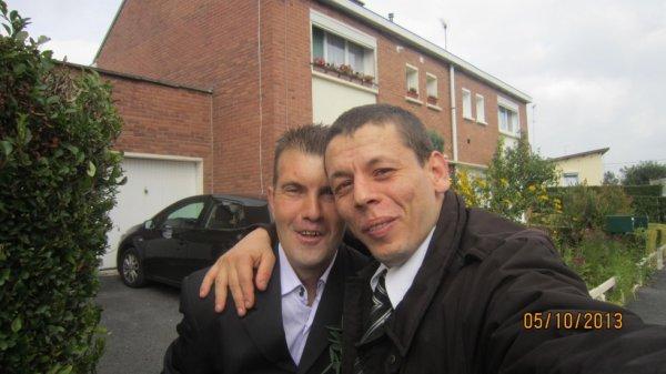 Avec mon pote David