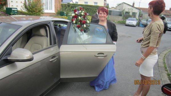 Martine l'heureuse mariée :)