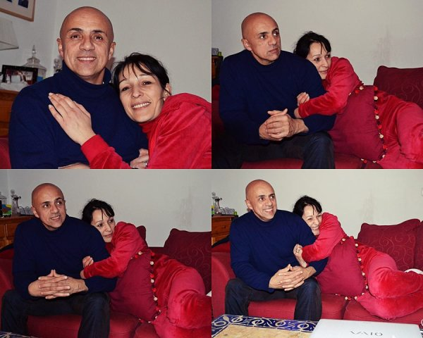 Mum and stepfather ; 15 years. ♥