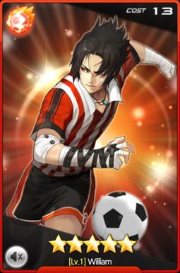William dans le jeu soccer spirits