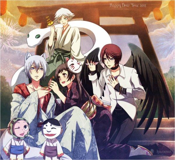 je vous conseille Kamisama hajimemashita. Genre : comédie, romance, surnaturel, dieux/déesse, démons