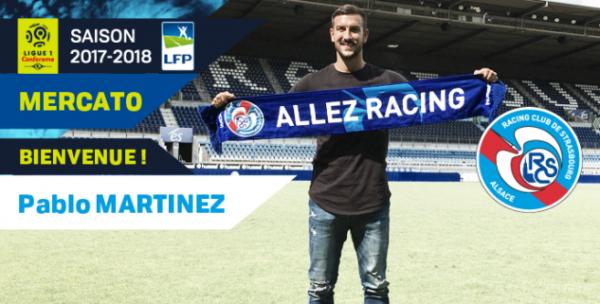 Pablo Martinez : « Heureux et fier de signer au Racing »