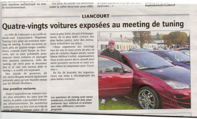ARTICLE SUR LE COURRIERS PICARDS
