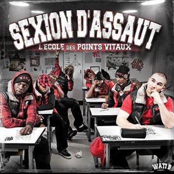 """L'album n°5 de Sexion D'assaut """"L'ECOLE DES POINTS VITAUX"""" Sorti le 15 février 2010"""