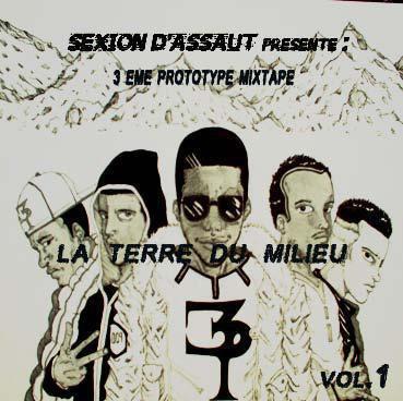 """L'album n°1 de Sexion D'assaut """"LA TERRE DU MILIEU"""" sorti le 13 mai 2005"""
