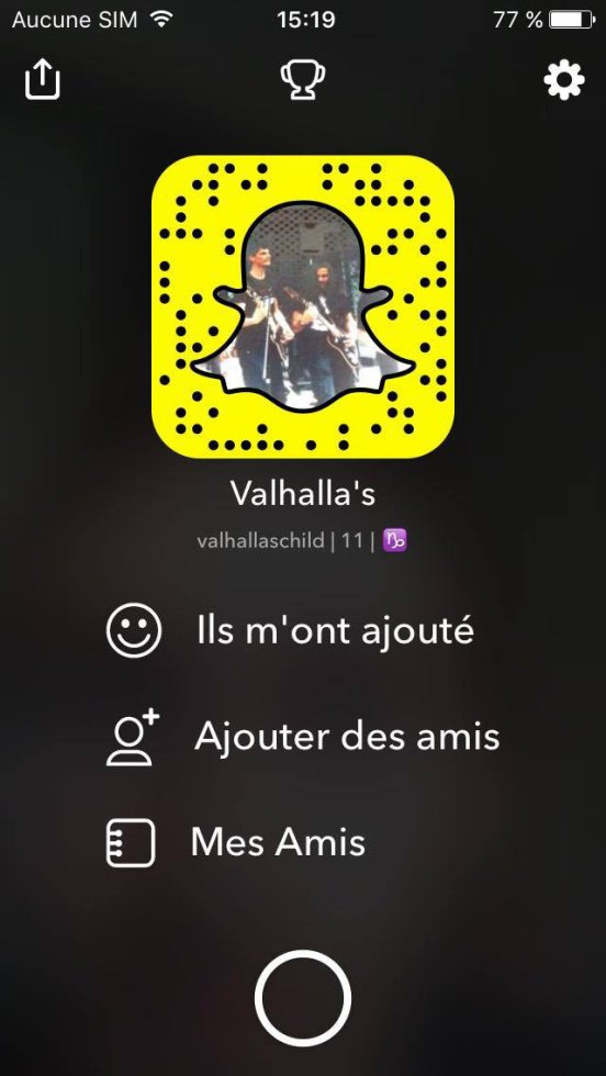 Valhalla's Child sur Snap !