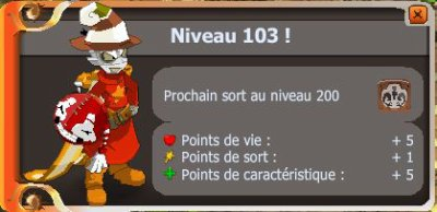 Encore du Level Up ! (Et une vente !)