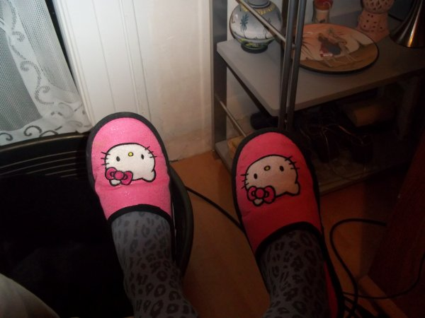 Chausson Hello Kitty Paire N*1