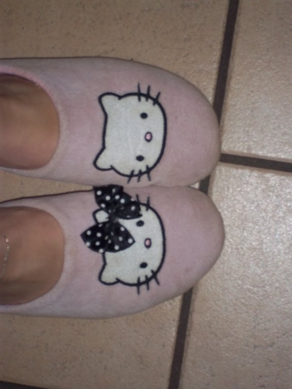 Chaussons Hello Kitty Paire n*2