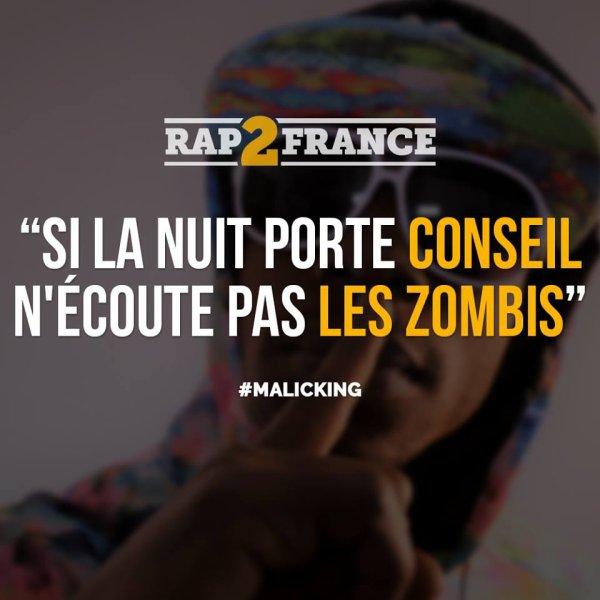 #SKYROCK, LA PUNCHLINE DE @MALICKING VALIDEE PAR @RAP2FRANCE #BLACKDAYS