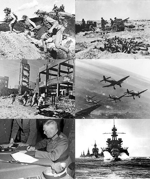 Partie I : La seconde guerre mondiale