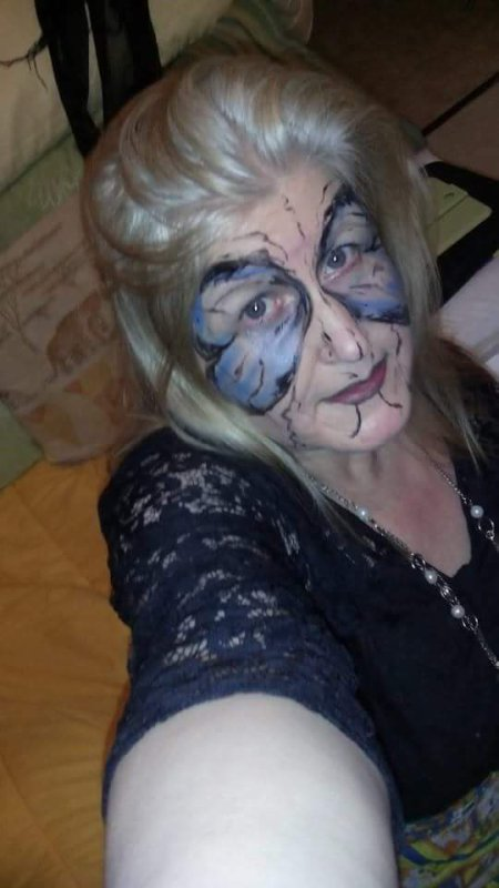 Maquillage artistique ' moi même