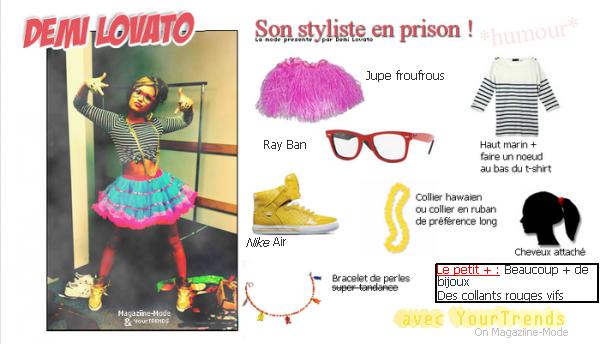 Demi Lovato : Son styliste, en prison !