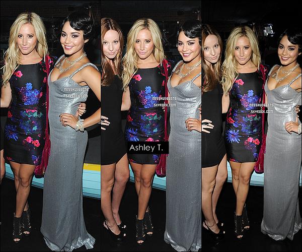 . 28/08/11 : Vanessa Hudgens était présente à la fête organisée par Candie's pour les « MTV music Awards ».Une robe de couleur argent, une coiffure façon année 20, un make-up parfait.. Sans hésitation c'est un TOP pour notre Vanessa ! .