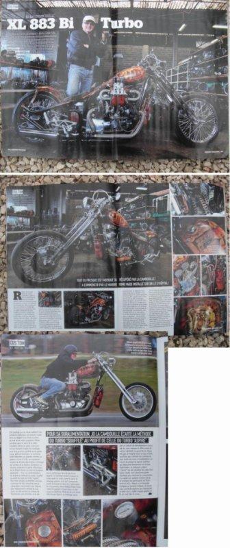 un reportage sur ma double shots dans le magazine freeway