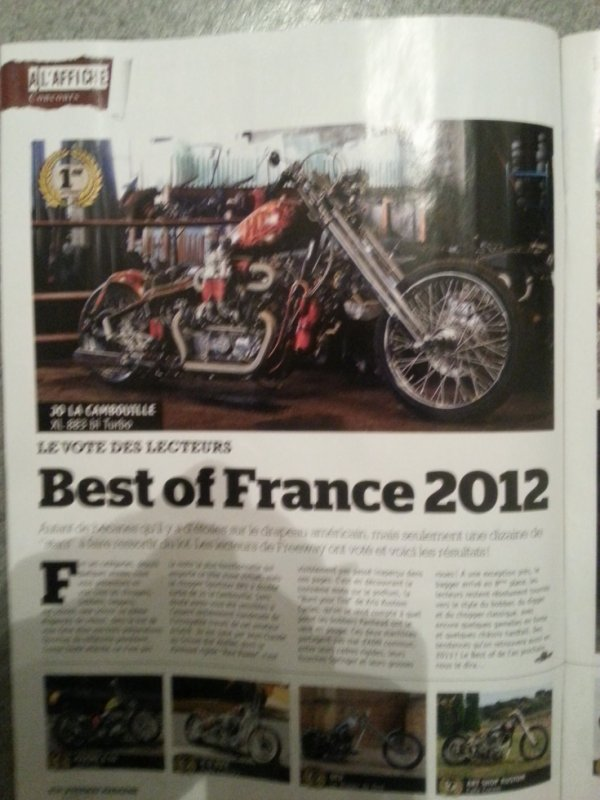MON BEST OFF FRANCE 2012