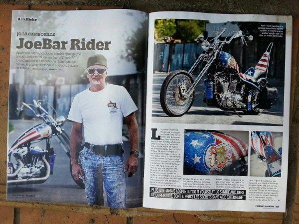 Merci Eric Corlay pour la photo et le super reportage dans le magazine Freeway