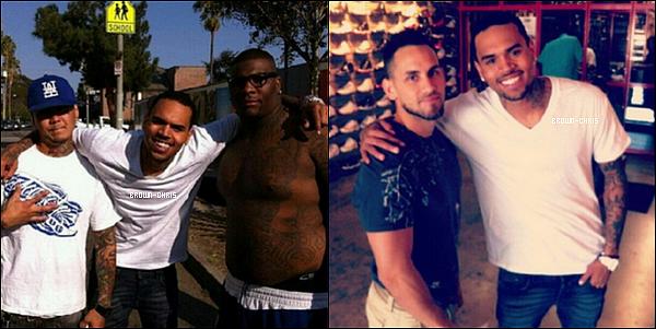 - 25 SEPT. : Chris a été aperçu arrivant au Supperclub en compagnie du chanteur Sean Kingston. (Los Angeles)TOP/FLOP?  -