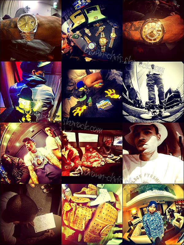 - Récapitulatif des dernières photos postées sur Instagram. -