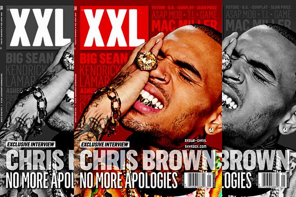 """- NEWS : Chris fait la couverture du magazine américain """"XXL"""" pour Décembre 2012/Janvier 2013, voici les photos du shoot qui se trouvent dans le magazine.QU'EN PENSEZ-VOUS ? -"""