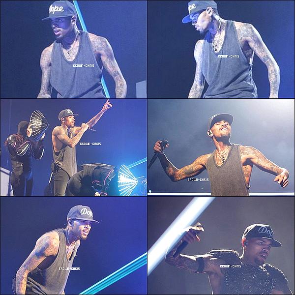- 03 DEC. : Chris était au The O2 Dublin à Dublin pour l'un des concerts de sa tournée. (Irlande)  -