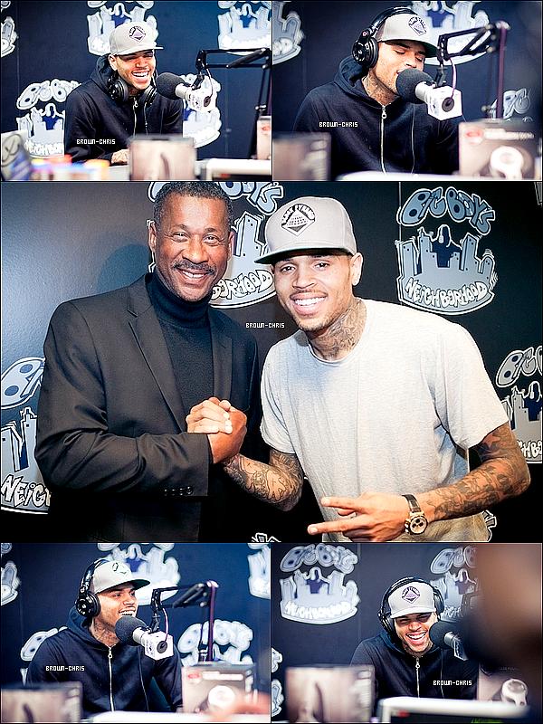 . 29 MARS. : Chris a accordé une autre interview chez Big Boy's Neighborhood sur la radio Power 106 ! -