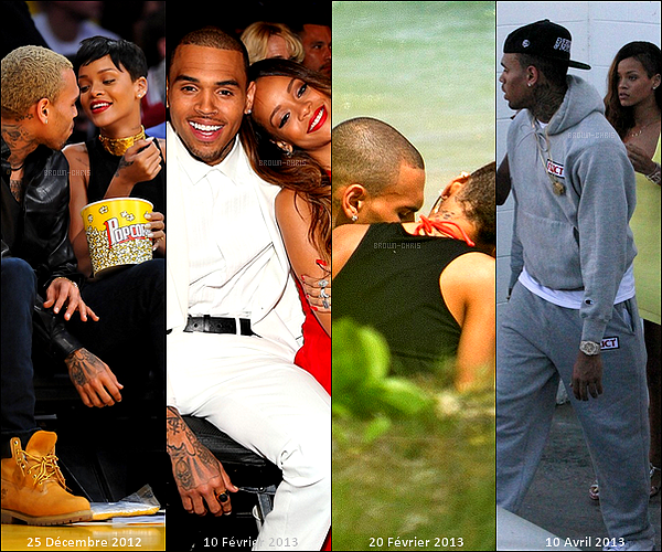 """. DIVERS. : """"Chris est l'amour de ma vie !"""" déclara Rihanna en août dernier. L'histoire idyllique entre Chris & Rihanna a aussi bien connu des hauts que des bas, plus personne n'y croyait et pourtant leur amour est toujours là ! Voici un florilège de photos retraçant le parfait amour de Chrianna de 2007 jusqu'à nos jours.   -"""