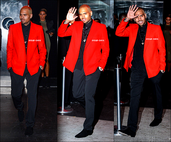 . 06 MAI. : Chris était présent à l'after party du MET Gala ! (New York)TOP/FLOP ? -