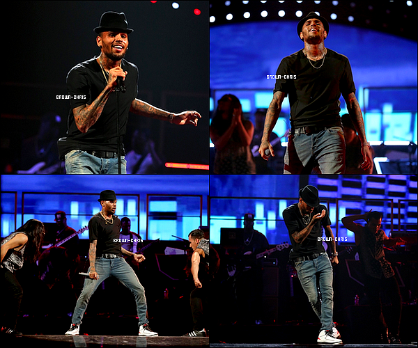 - 20 SEPT. : Chris était à Las Vegas pour le iHeartRadio Festival afin de faire une performance sur Fine China, Don't Think They Know, Beat It, Beautiful People, Strip et bien plus encore !QU'EN PENSEZ-VOUS ? -