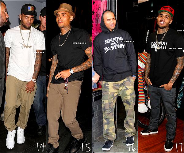 - RECAP' : Voici un récapitulatif des tenues portées par Chris durant l'année 2013. (candids, events, appearences confondus)QUELLES SONT VOS TENUES PRÉFÉRÉES ? -
