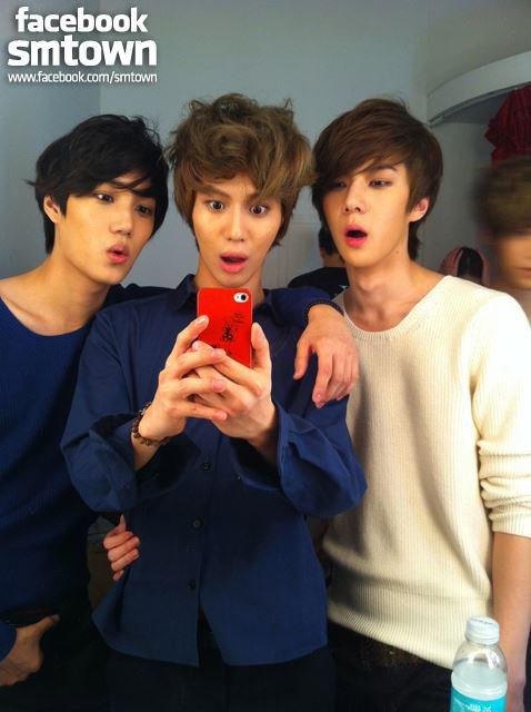 taemin with exo-k