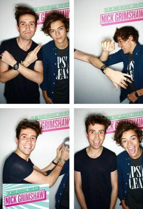 Harry et moi. <3
