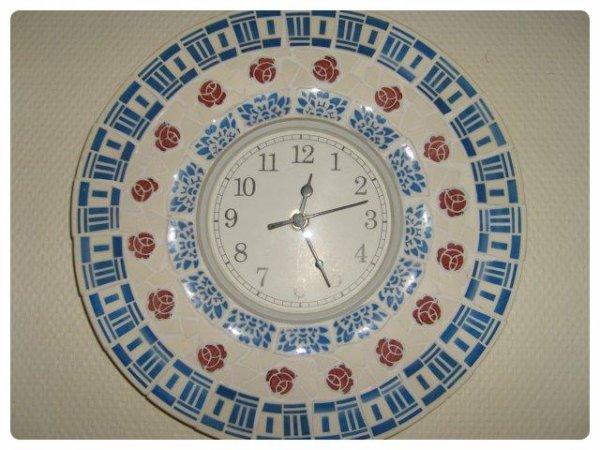 Mosaique - Horloge Picassiette
