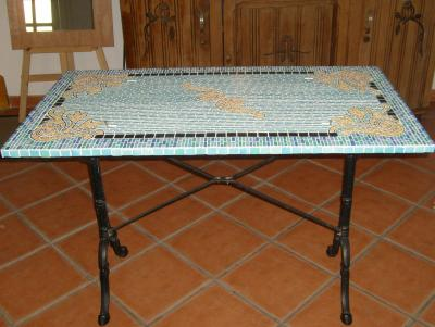 MOSAIQUE Table Bistrot - Suite et fin