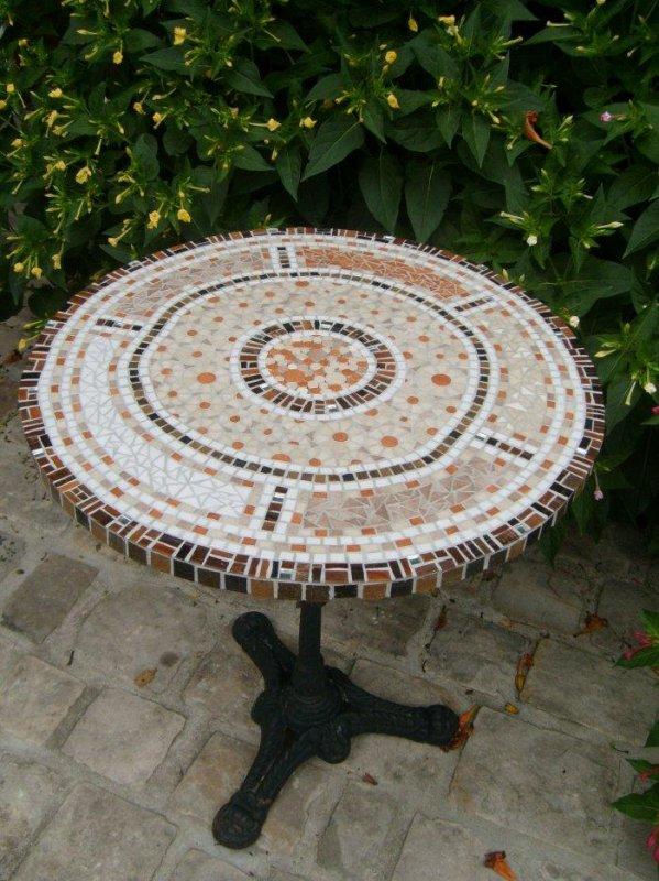 Table Bistrot Mosaïque