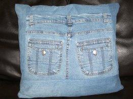 RECUP JEANS - Coussins en jeans