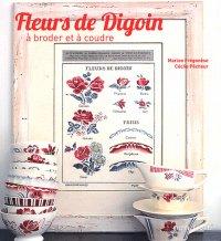 """Livre  """"fleurs de Digoin"""" de Marion Frégonèse et Cécile Pêcheur"""