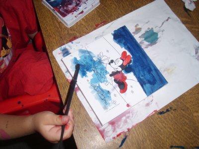 seance peinture