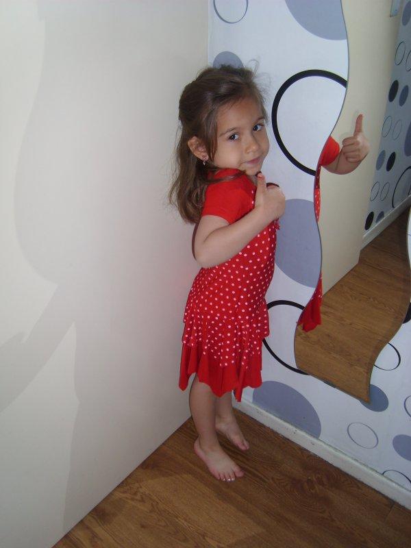 ma fille 4ans aujourdhui mon coeur on taime