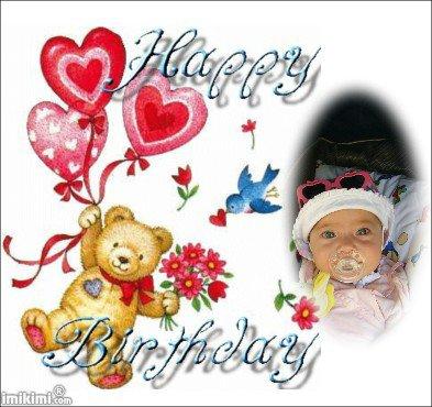 Joyeux Anniversaire A Ma Niece Cherie Gros Bisous Mon Ange