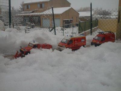 secours ouverture de porte le jour de la neige