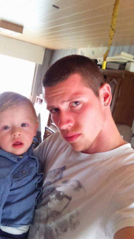 moi et mon fils matheo