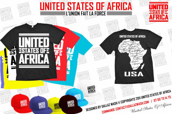 """Découvrez le nouveau groupe de music et la marque la plus attendu du moment """"United States Of Africa"""" (U.S.A)"""